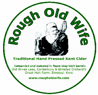 Real Kent Cider - Rough Old Wife logo